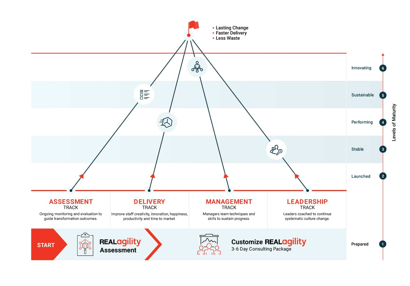 Real Agility™ Program infographic