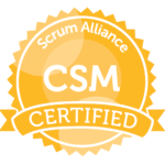 Certified Scrum Master with Scrum Alliance