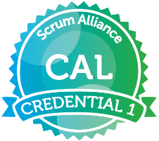 Certified Agile Leadership® (CAL1) badge