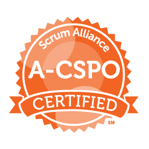 **NEW** Advanced Certified Scrum Product Owner® (A-CSPO) badge