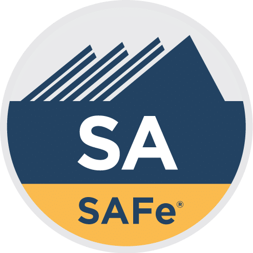 Leading SAFe® with SA Certification (+FREE Scaling Workshop) badge