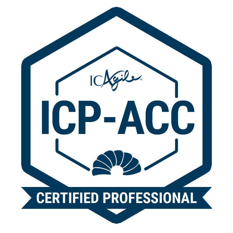 Coach Skills for the Agile Workplace® (ICP-ACC) [Virtual Learning] badge