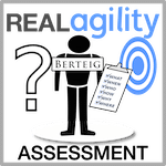 Real Agility Assessment Track for Enterprise Agility