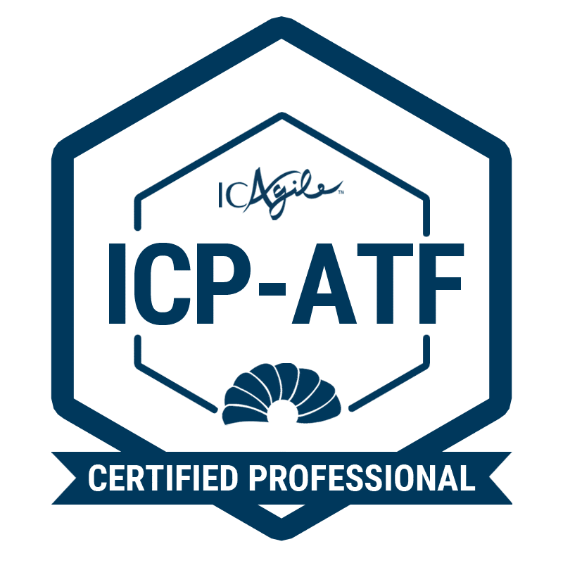 Facilitation Skills for the Agile Workplace® (ICP-ATF) badge