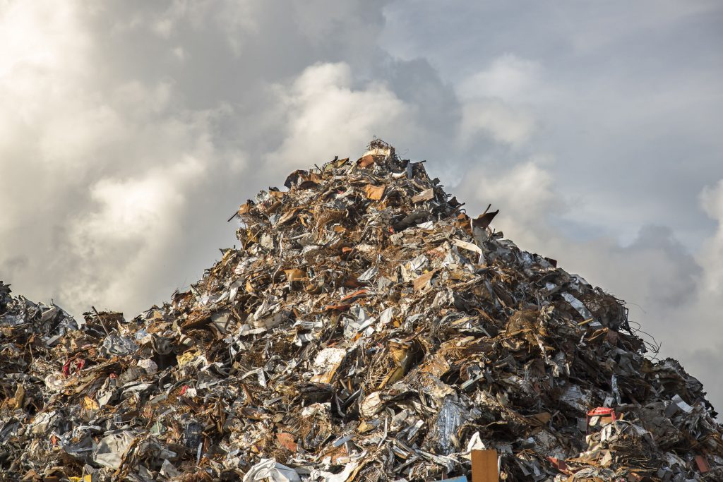 Business Agility - Filter and Discard - Mountain of Trash
