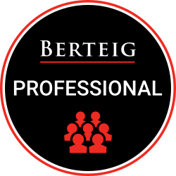 BERTEIG Professional loyalty program badge