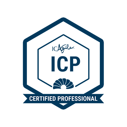 ICAgile® Certified Professional (ICP) [Virtual Learning]	- Weekend Class! badge