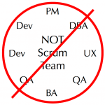 Not a scrum team
