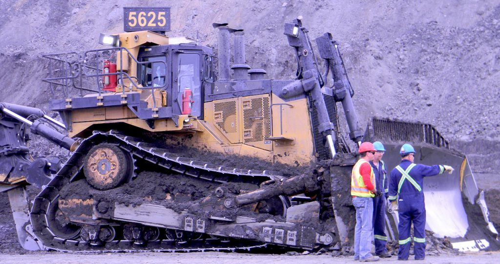 Agile Mining at Suncor - D11 Cat - small