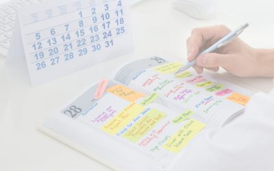 """As a Team Member I Do Not Track My Hours or My """"Actual"""" Time on Tasks - Businessman Writing Schedule in Planner Photo"""