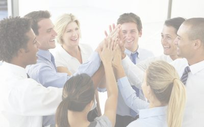 Your Scrum Master Believes That Scrum Will Help the Team Improve - Small Team Group High Five Photo